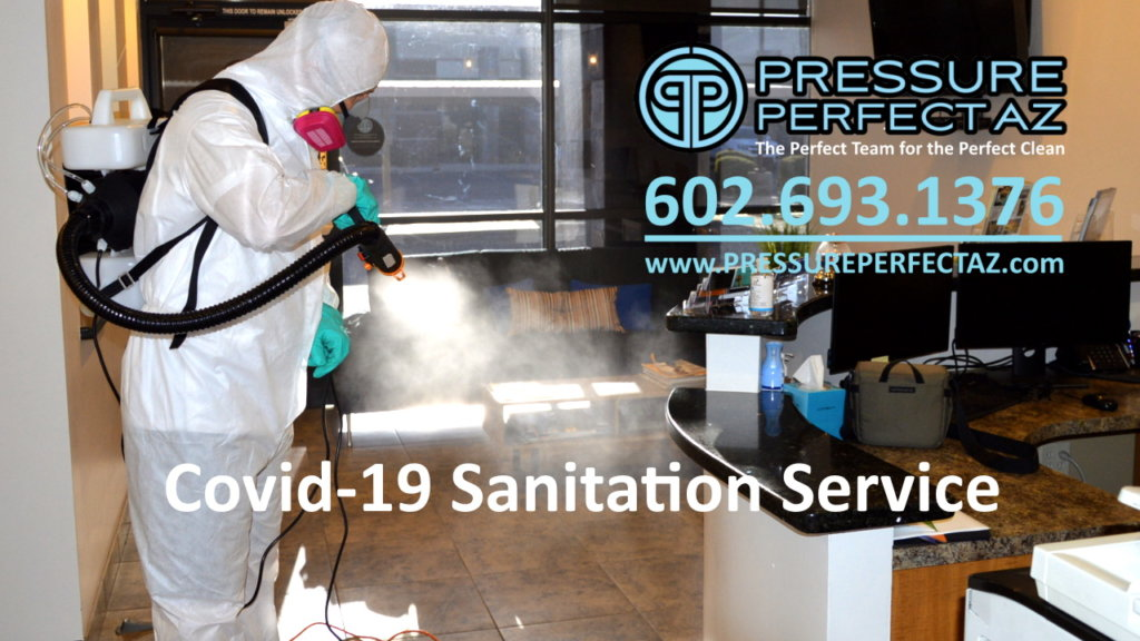 Sars CoV2 Coronavirus Covid-19 sanitation and disinfecting in Phoenix Litchfield Park Goodyear Avondale Buckeye Peoria Glendale Surprise Arizona