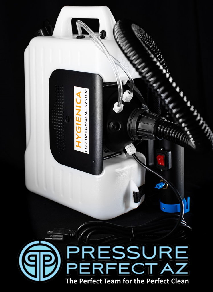 Hygienica HX-Pro Electro Static Atomizing Sanitation and Disinfecting Sprayer for Use with Vital Oxide for Covid-19