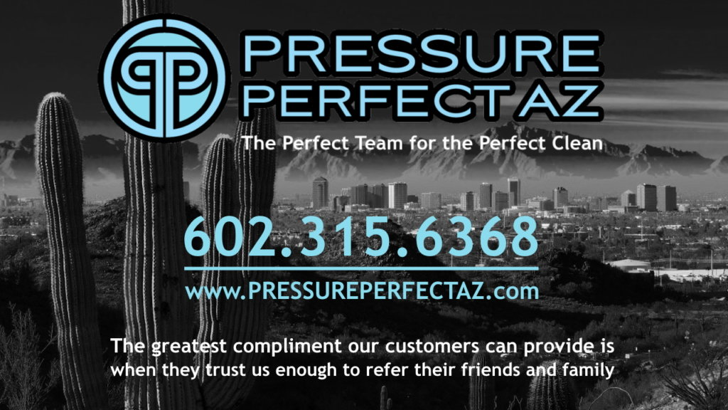 Professional Pressure Washing, cleaning and covid-19 sanitation and disinfecting services in Litchfield Park Arizona in the Phoenix West Valley.
